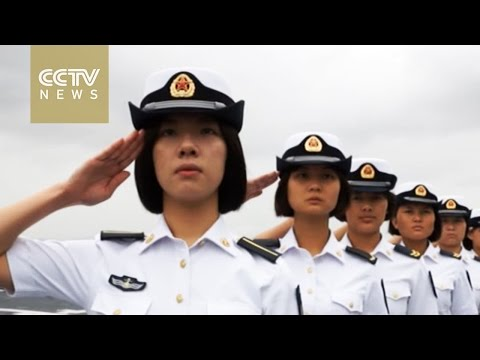 Internationalization of  China's naval officers
