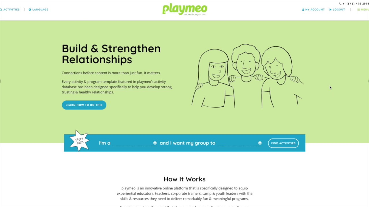 Introduction To Playmeo S Group Games Activity Database