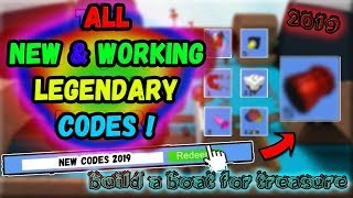 AUGUST 2019 NEW & WORKING CODES !!? / Build a Boat for Treasure / Roblox