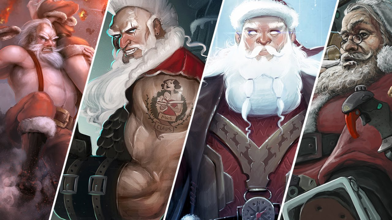 'EPIC SANTA' - DECEMBER 2015 COTM SHOWCASE and WINNERS!