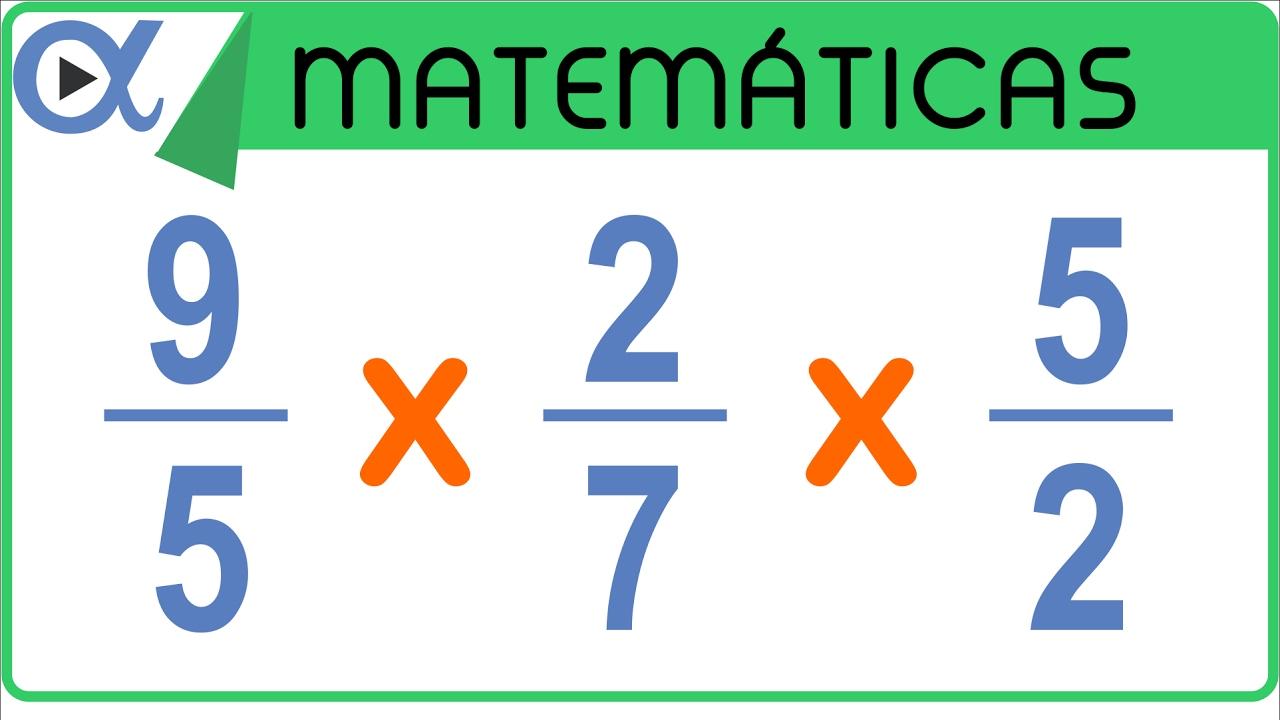 Multiplicación De 3 Fracciones Aritmética Vitual Youtube