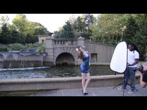 Retratos al aire libre, luz disponible y flash