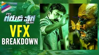Garuda Vega Full Movie VFX Breakdown | Rajasekhar | Sunny Leone | Pooja Kumar | Shraddha Das