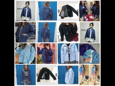 [THÁNG 3/2018] - Tổng Hợp Những Kiểu áo Khoác JEAN Mới Nhất: