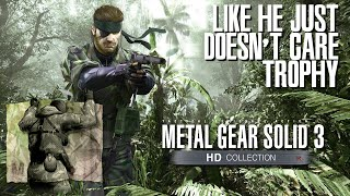 Metal Gear Solid 3: Snake Eater - Like He Just Doesn