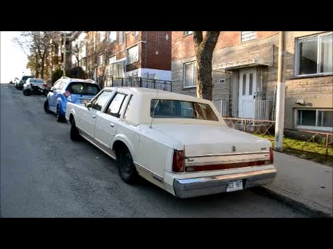 LATE 80S LINCOLN TOWN CAR SIGHTING - YouTube