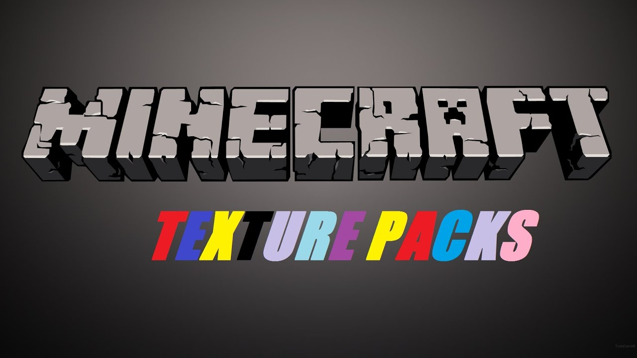 Minecraft PC, Texture Packs - YouTube