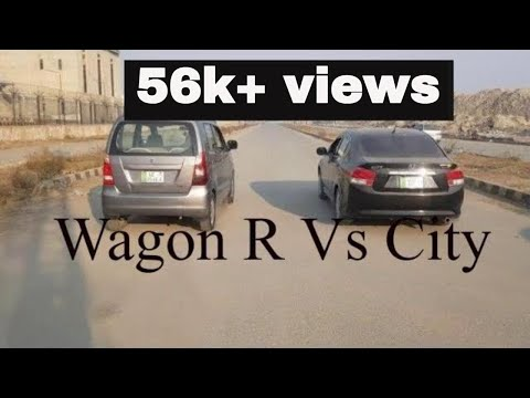 Honda City Vs Suzuki Wagon R Drag Race