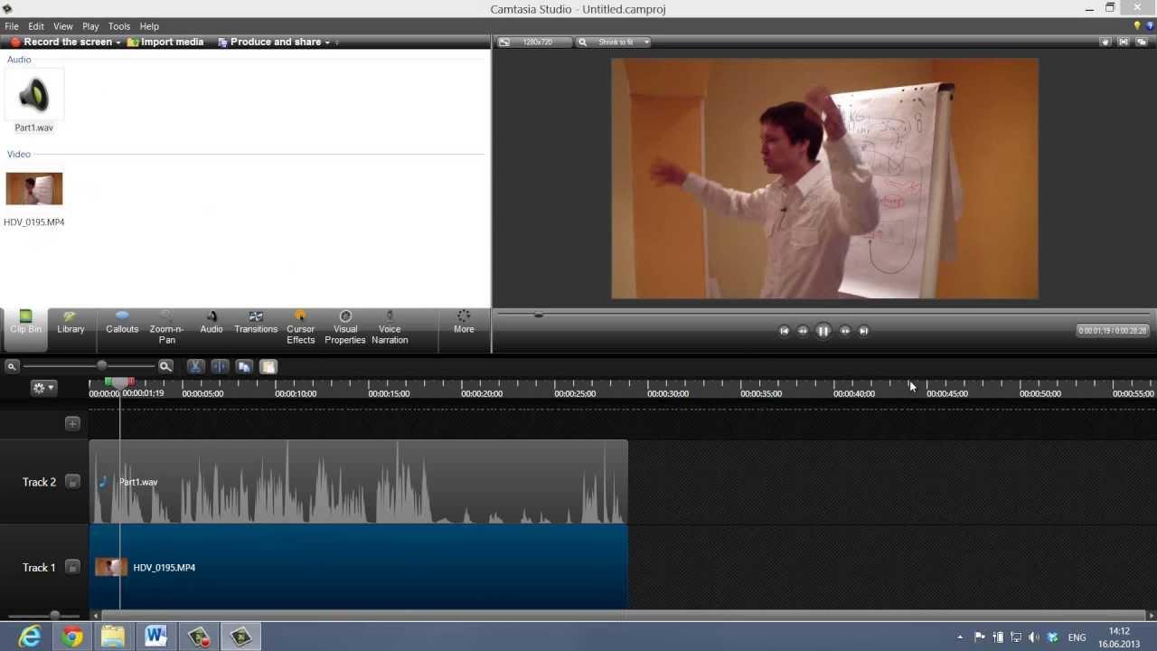 программа для создания видеороликов и наложения голоса