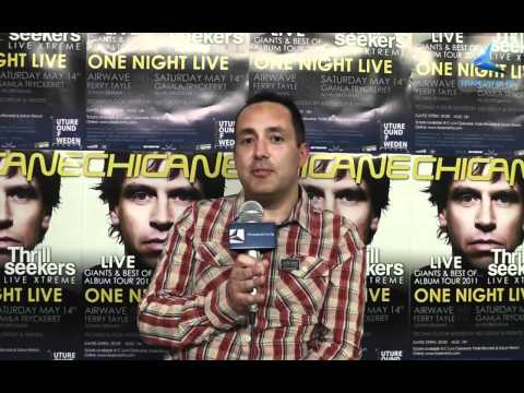 The Thrillseekers interview, FSOS One Night Live 2011