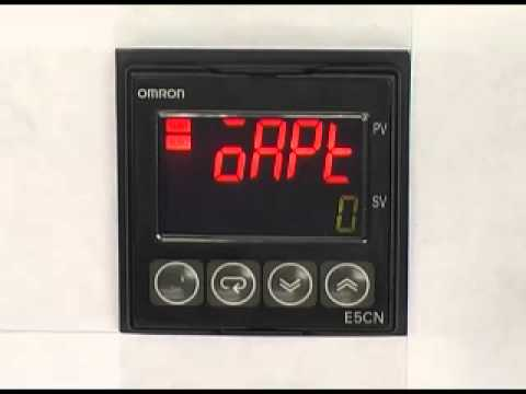 Omron Temperature Controller Wiring Diagram Electricity Initialzing Setting For E5 N Youtube