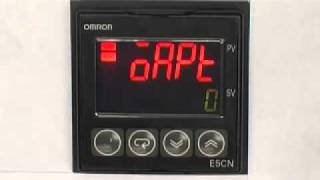 Initialzing Setting for OMRON Temperature Controller E5_N