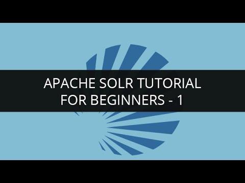 Apache Solr Tutorial for Beginners -1 | Apache Lucene Tutorial -1 | Solr Search Tutorial | Edureka