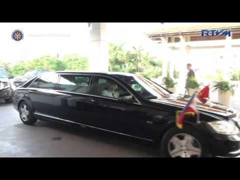 Arrival at Sheraton Hotel, Hanoi, Vietnam 9/28/2016