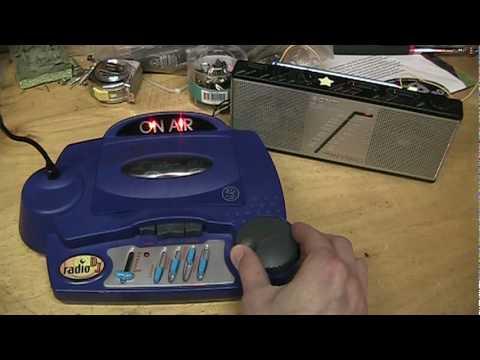 Wild Planet Radio DJ transmitter toy (FCC Part 15 AM ...  Wild Planet Rad...