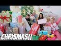 CHRISTMAS DAY!! OPENING OUR CHRISTMAS PRESENTS!!
