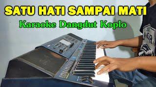Download lagu SATU HATI SAMPAI MATI Karaoke Koplo Duet Tanpa Vokal - CASIO MZX500