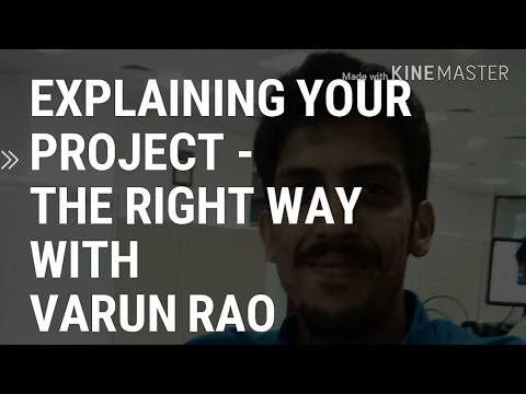 Technical PROJECT Explanation in Interview with Varun Rao