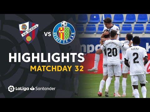 Huesca Getafe Goals And Highlights
