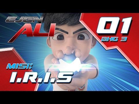 Ejen Ali (Episod 1 Bhg 3) - Misi : Iris
