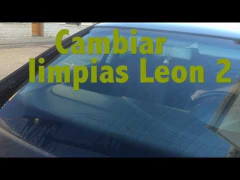 Cambiar limpias Seat Leon 2