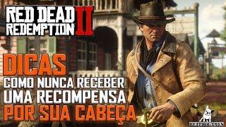 Red Dead Redemption 2 -  DICAS - COMO NUNCA SER PROCURADO POR UM CRIME!