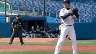 2010年3月12日 プロ野球OP戦 東京ヤクルトスワローズvs福岡ソフトバンク...