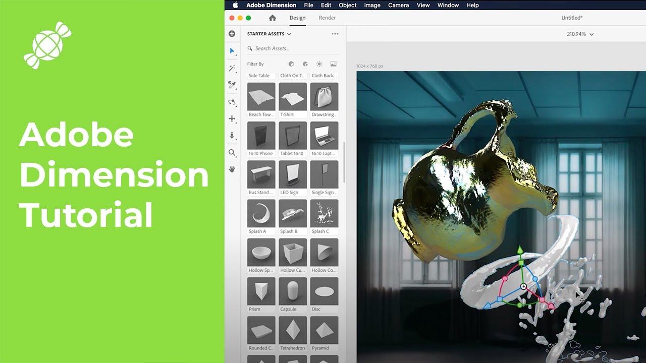 Adobe Dimension   Content Creator Series