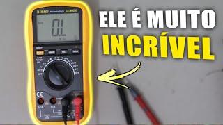 Multímetro Hikari HM 2090 Testa Capacitores e Cristais Será?