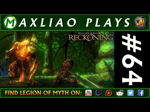 MaxLiao streams Kingdoms of Amalur: Reckoning - (#64)