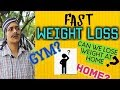 FAST WEIGHT LOSS : How to Lose Weight At Home ? ( WITHOUT GYM )