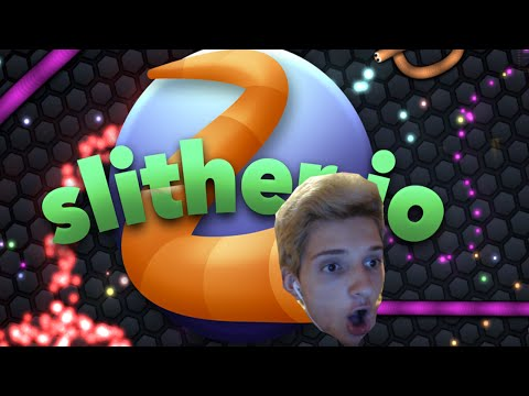 SLITHERING TO YOUR MANS HOUSE! Slither.io