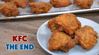 The End  The Final KFC Recipe Video - KFC secret Ingredients revealed - Glen And Friends Cooking
