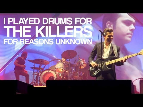 THE KILLERS: FAN PLAYING DRUMS - Toronto 01/05/18 - For Reasons Unknown