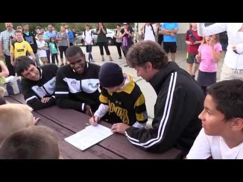 Rowdies Sign Courageous 12 Year-Old Midfielder Cole Eicher - April 2, 2014