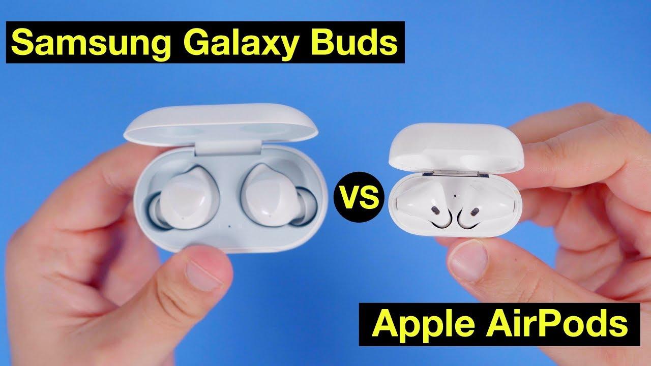 Samsung's Galaxy Buds vs  Apple AirPods - MacRumors