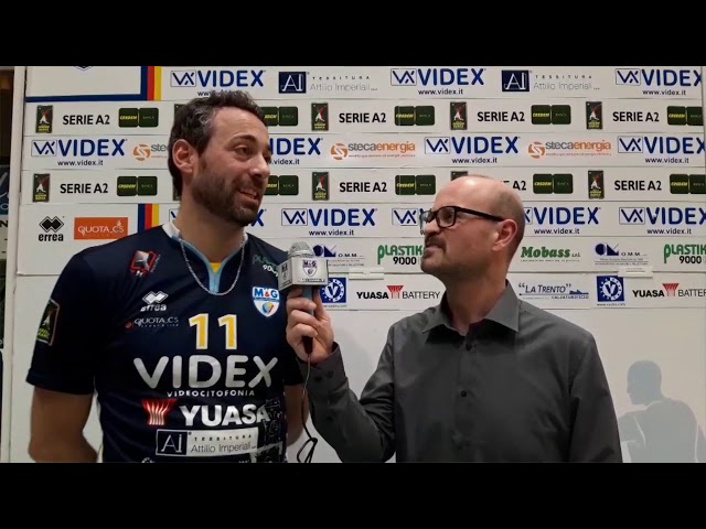 Videx - Cuneo: l'intervista post gara