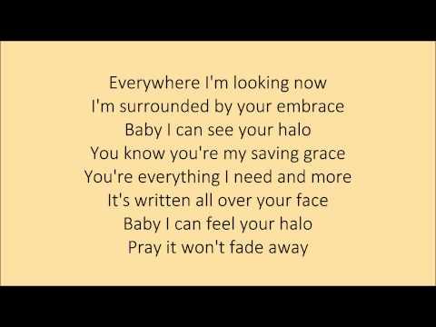 Beyonce - Halo - Lyrics