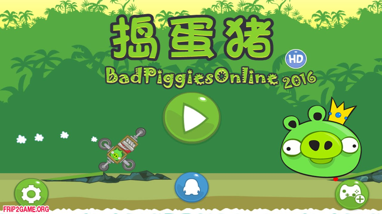 Bad Piggies Car Game
