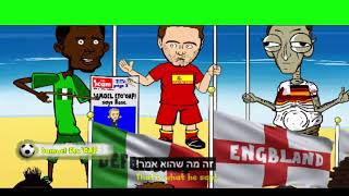 שיר המונדיאל 2014 (אנימציה מתורגמת)