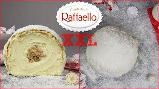 XXL RAFFAELLO  Giant Raffaello  Riesen Raffaello Rezept  Recipe  Kikis Kitchen