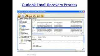 Outlook email recovery
