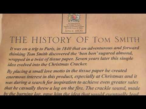 The History of Tom Smith - Christmas Crackers - Borðsprengjur - Jólabomba
