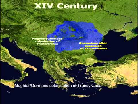Romanians   Ethnic map evolution between 200 B C  and present   YouTube Romanians   Ethnic map evolution between 200 B C  and present