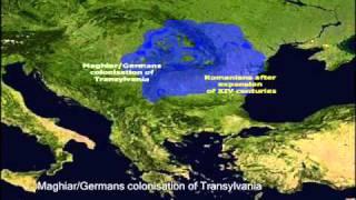 Romanians - Ethnic map evolution between 200 B.C. and present