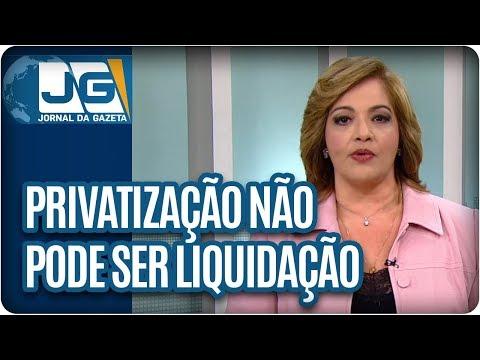 Denise Campos de Toledo/Privatização não pode ser liquidação