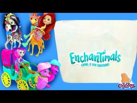 ОГРОМНАЯ ПОСЫЛКА Enchantimals ТЕПЕРЬ ОНИ МЕНЯЮТ ЦВЕТ! Распаковываем Игрушки для Девочек