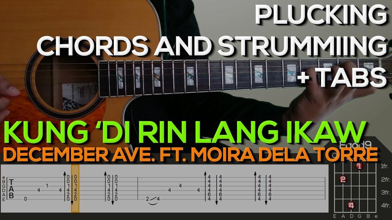 December Avenue Ft Moira Dela Torre Kung Di Rin Lang Ikaw Guitar