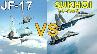 Pakistan JF-17 Thunder Block 3 VS Sukhoi SU-30MKI