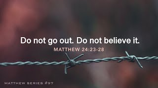 Do not go out. Do not believe it. - 1.19.20 MESSAGE